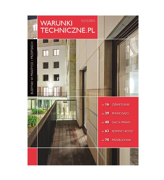 Magazyn Warunki Techniczne.PL #11